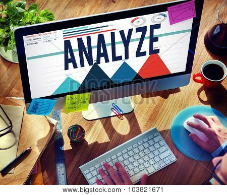 Analyze Data Analysis Strategize Information Concept