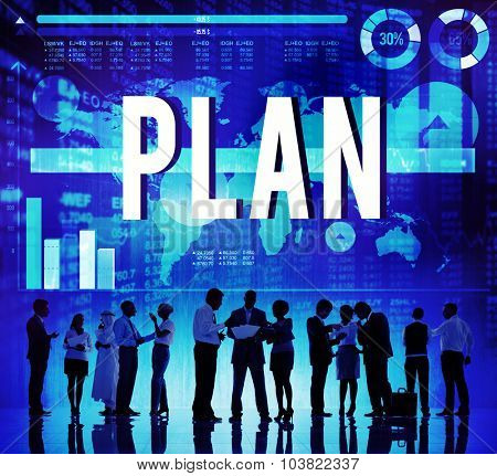 Plan Planning Strategy Analysis Development Concept