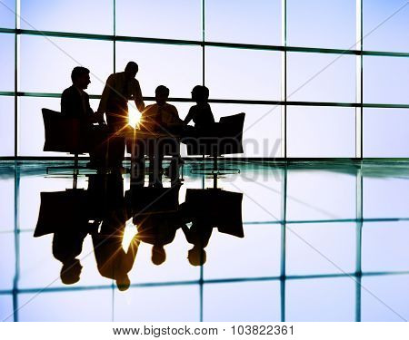 Business Team Discussion Meeting Communication Concept
