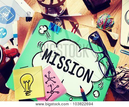 Mission Target Plan Motivation Organization Concept