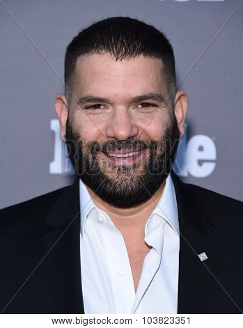 LOS ANGELES - SEP 26:  Guillermo Diaz arrives to the TGIT Premiere Red Carpet Event  on September 26, 2015 in Hollywood, CA.