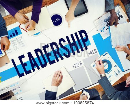 Leadership Leader Lead Management Coach Concept