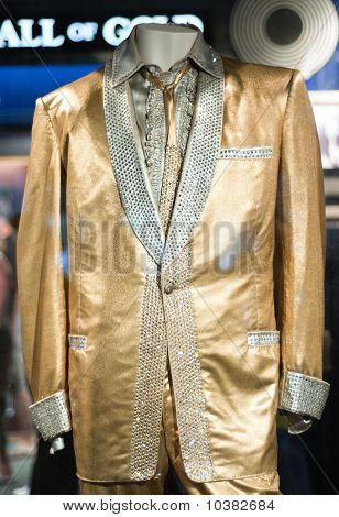 Elvis Presley Gold Suit