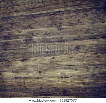 Brown Textured Varnished Wooden Floor Timber Concept