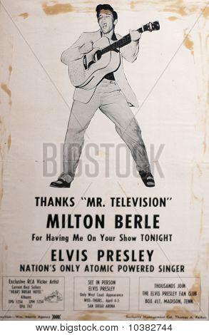 Elvis Presley Memrobillia