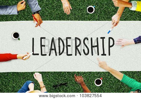 Leadership Leader Management Coaching Concept