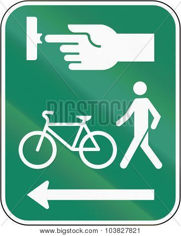 Use The Crosswalk Signal For Pedestrians And Cyclists In Canada