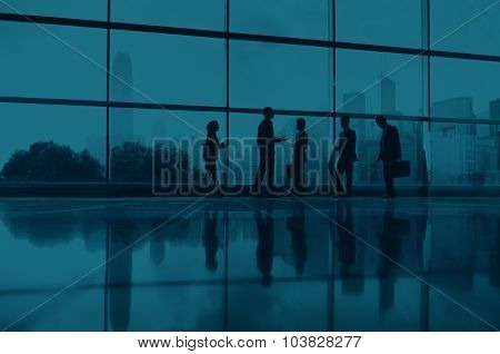 Business People Communication Office City Concept