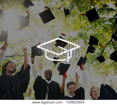 Mortar Board Education Knowledge Wisdom Graduation Concept