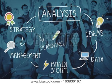 Analysis Analytics Information Business Strategy Concept