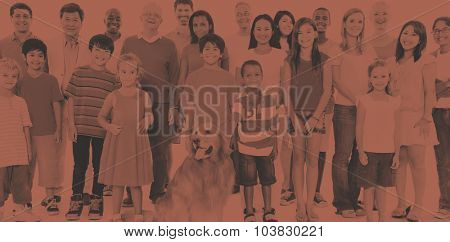 Variation Community People Ethnicity Friendship Concept