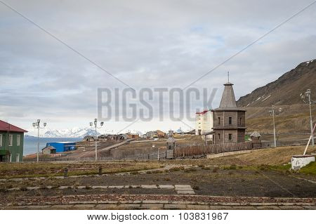 Russian Orthodox Church In Barentsburg, Svalbard