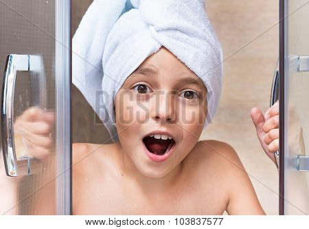 Children In Bathroom