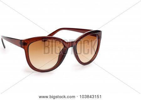 Spectacles Isolated In White