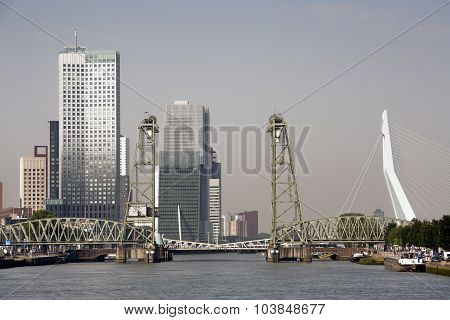 Rotterdam Cityscape South Bank