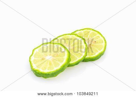 Kaffir Lime Slices (bergamot).