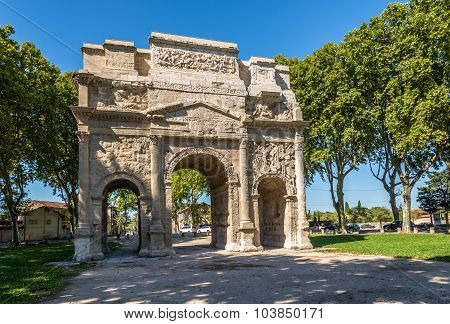 Roman Triumphal Arch Of Orange