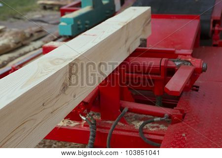 Woodworking The Machine Tool, Wood Factory. Wood Shavings, Planks