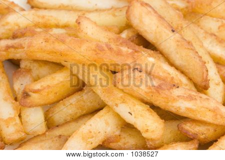 Close Up Of Fries