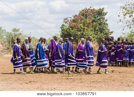Maasai In Tanzania