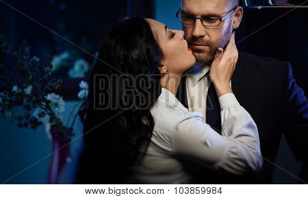 Kissing Couple