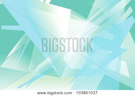 Futuristic Background With Angular, Edgy Shapes. Abstract Geometric Vector Art.