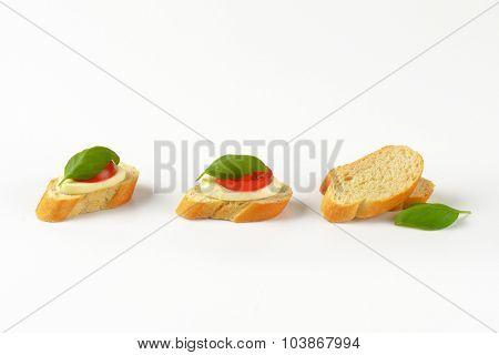mozzarella sandwiches