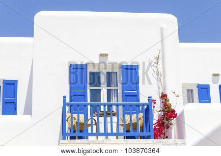 Greek Beach Apartment, Mykonos, Greece