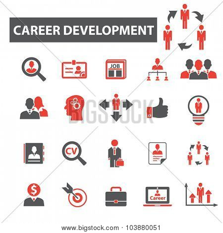 career development icons