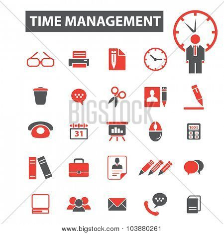 time management icons