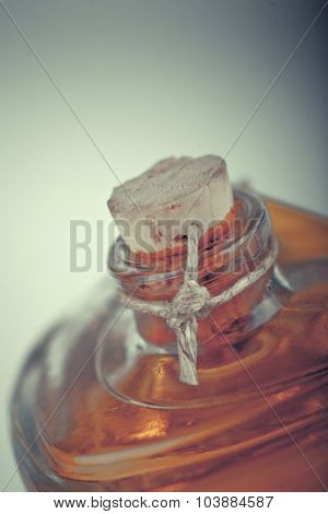 Perfume Close Up Photo, atistic toned photo  with space for your text