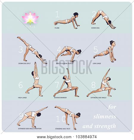 Yoga For Slimness And Strength