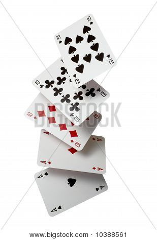 Playing Cards Poker Gamble Game Leisure