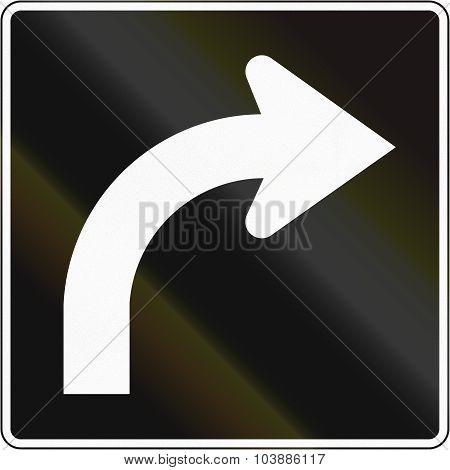 Right Turn Lane In Canada