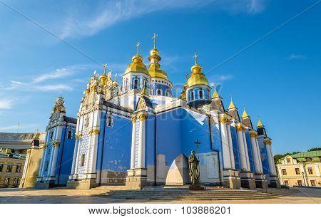 St. Michael Golden-domed Monastery In Kiev, Ukraine