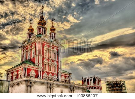 Gateway Church Of Transfiguration In Novodevichy Convent - Moscow