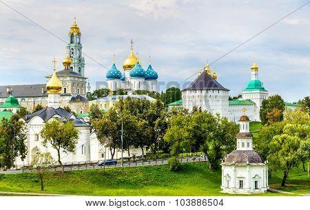 View Of The Trinity Lavra Of St. Sergius - Sergiyev Posad, Russia