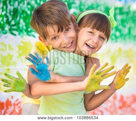 Creative Child Concept