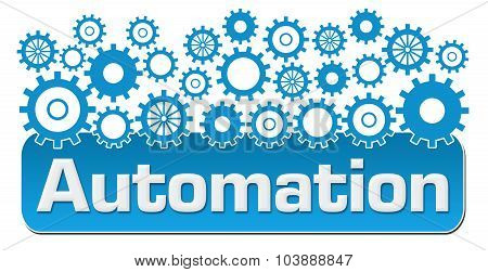 Automation With Blue Gears On Top