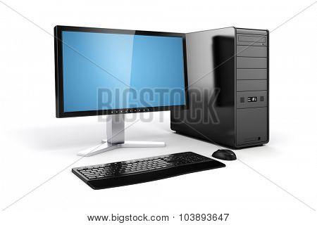 3d computer desktop