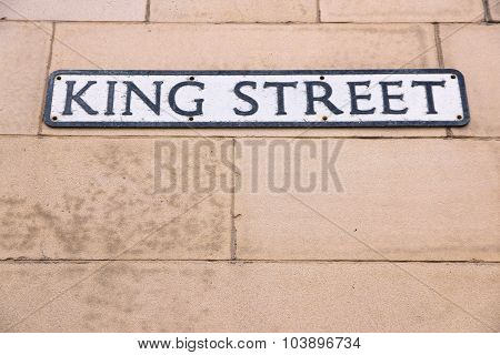 King Street In Manchester