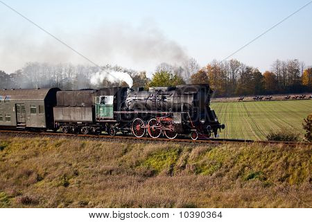 Retro Steam Train