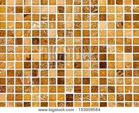 Ceramic Glass Colorful Tiles Mosaic Composition Pattern Background