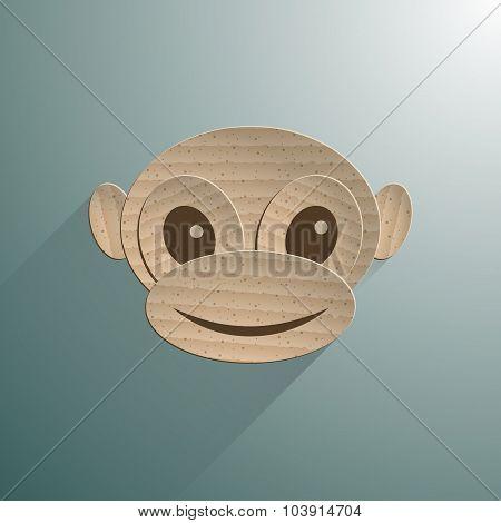 Little baby monkey