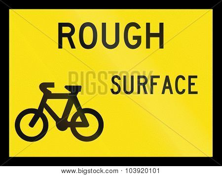 Rough Surface For Cyclists In Australia
