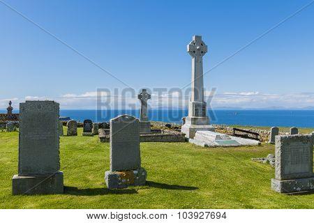 Gravestones Kilmuir Graveyard