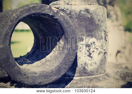 The Abstract Charred Iron Cylinder