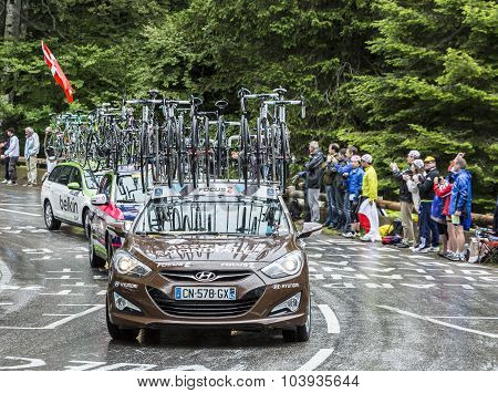The Car Of Ag2R-la Mondiale Team - Tour De France 2014