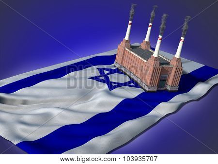 national heavy industry concept - Israel theme