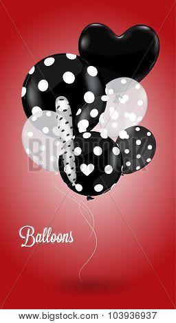 Creative Balloon Red
